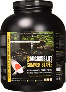 Eco Labs MLLSSLG Microbe Lift Summer Staple 36% Protein Fish Food, 4-Pound 12-Oz