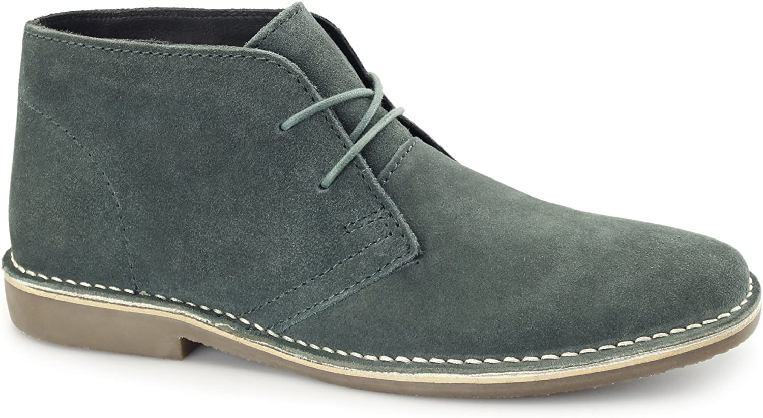 Red Tape Gobi II Mens Suede Desert Boots Teal UK 12