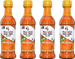 Nando's PERi PERi Sauce Medium 9.1oz 4 Pack