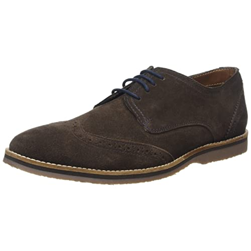b16c07f8623 Hush Puppies Men s Sebastian Wingtip Derbys  Amazon.co.uk  Shoes   Bags