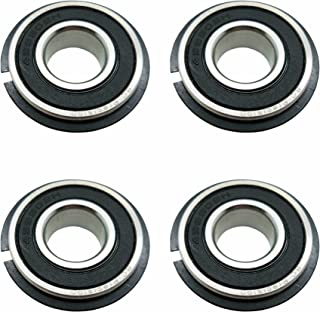 Four (4) Go Kart/Lawnmower Bearings w/Snap Ring 99502H NR 5/8 x 1-3/8 x .433