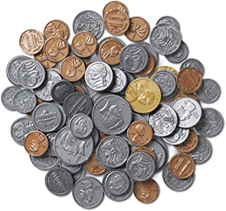 Learning Resources Play Money Coin set of 30 pennies, 20 eac