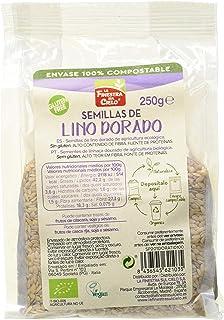 comprar comparacion la FINESTRA sul CIELO Semillas de lino dorado pulido bio envase compostable - 250g (caja de 6 Uds.) Total: 1500g (1DORATI)