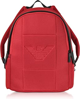 Luxury Fashion | Emporio Armani Mens Y4O217YMI9V81499 Red Backpack | Fall Winter 19