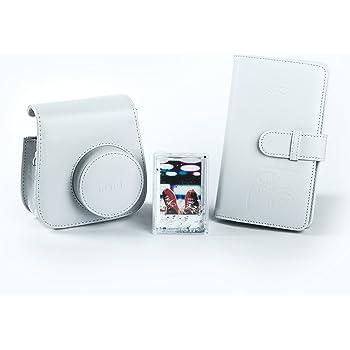 Fujifilm instax Mini 9 Accessory Kit, Smoky weiß