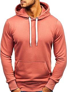 a1a39fad6ac84 Amazon.fr : Rose - Pulls, Gilets & Sweat-shirts / Homme : Vêtements