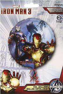 Iron Man Birthday Party - Iron Man 3 Armors Non Mesage 18 Inch Foil Balloon