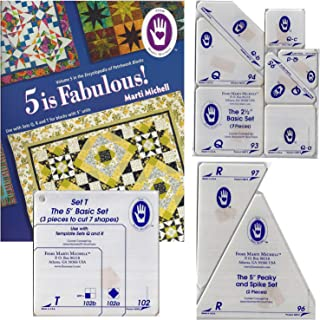 Marti Michell Easy Quilt Template Bundle for Beginner Quilti