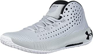 Under Armour Men's HOVR Havoc 2 Basketball Shoe, Mod Gray (101)/White, 6.5