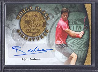 2015 Leaf Ultimate Tennis World Class Auto Gold #SA-AB1 Aljaz Bedene 01/10
