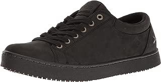 MOZO Men's Finn Slip Resistant Leather Sneaker