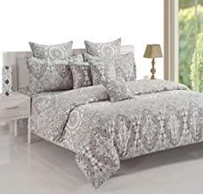 Swayam King Size, Cotton,Graphic Pattern, Multi Color - Bedding Sets