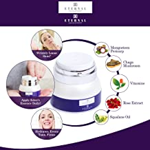 Ceramide Face Cream with AHA Hyaluronic Acid Chaga Mangosteen Rose for Anti Aging Wrinkles Under Eye Forehead Neck Collete Moisturizer for Men Women to Lift Firm Smooth Restoring Hydrating Skin Care
