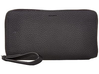 AllSaints Fetch Phone Wristlet (Black 1) Wristlet Handbags