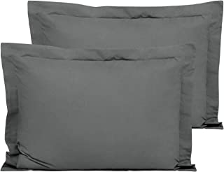 FLXXIE Standard Shams, Pack of 2 Pillowcases, Ultra Soft Microfiber and Premium Quality, 20