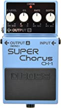 Boss CH-1 Stereo Super Chorus Pedal with 1 Year Free Extended Warranty