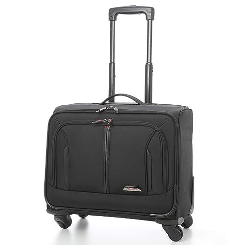"e5cead0b92a0 Aerolite 18"" 4 Wheeled Laptop Bag Executive Business Bag Mobile Office Cabin  Luggage Suitcase –"