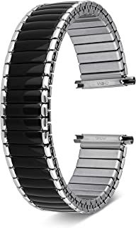 for Men & Women Expandable   Choice of Colors   Universal Fit 16mm, 18mm, 19mm, 20mm, 21mm,and 22MM   Includes 2 Spring Bars