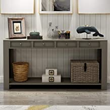 Best 64 inch console table Reviews