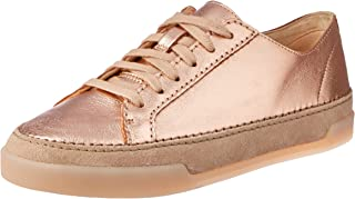 Clarks Women's Hidi Holly Lace-Up Flats, Pink