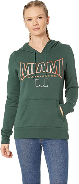 Miami Hurricanes Eco® University Fleece Hoodie