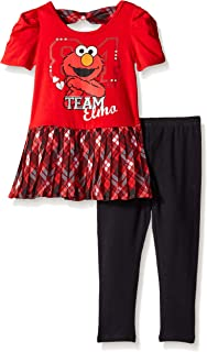 Sesame St Girls' 2pc Pullover and Pant Set