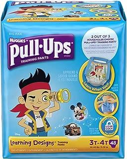 Huggies Pull-Ups Learning Designs Training Pants - Boys - 3T-4T - 48 ct