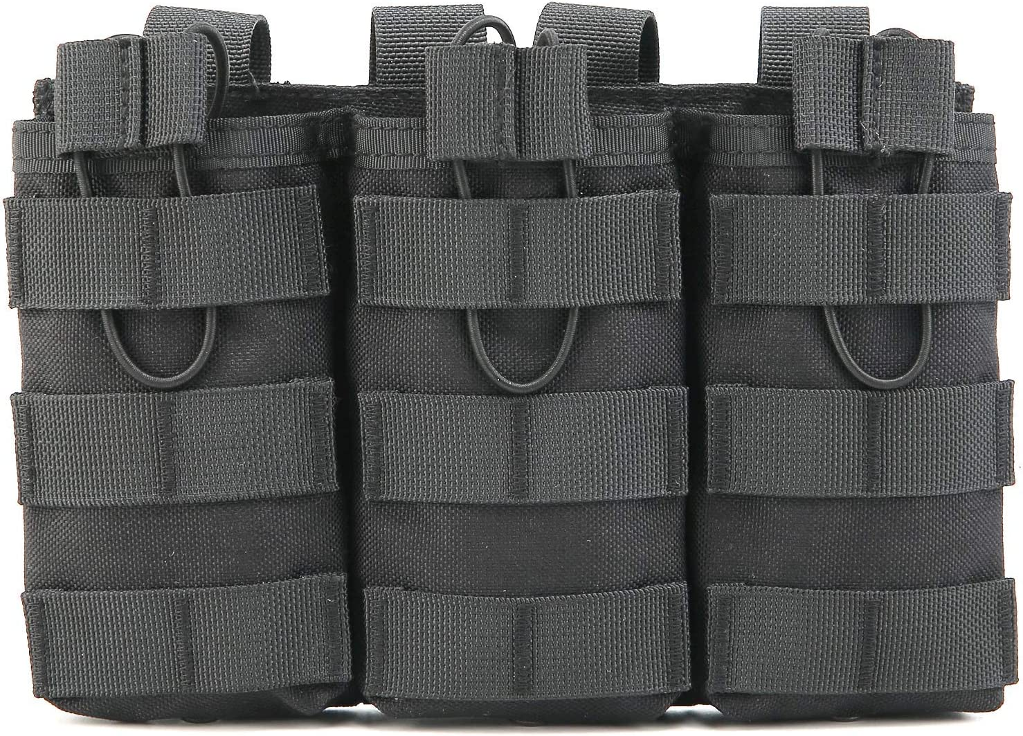 Tactical Outdoor Triple Popular standard M4 M16 Top Mag Shipping included Pouch Open