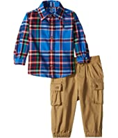 Plaid Shirt & Pants Set (Infant)