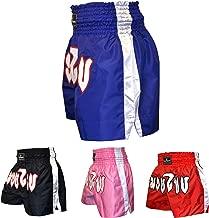 Boxsense Muay Thai Pantalones Boxeo Tailandes Nino Talla XS 21-24 BXSKID-013