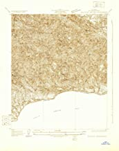 YellowMaps Solstice Canyon CA topo map, 1:24000 Scale, 7.5 X 7.5 Minute, Historical, 1929, 23.9 x 19 in
