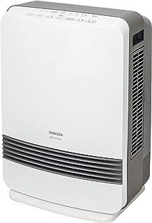 山善 セラミックヒーター 気化式 加湿 温風 (温度センサー) (風量2段階調節) (加湿量 500ml) (タンク容量 3.9L) (チャイルドロック機能) (5時間オートオフ機能) (入タイマー) ホワイト DKF-K122(W)