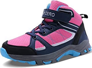 Caitin Running Tennis Shoes for Kids Lightweight Outdoor Hiking Boots Athletic Sneakers