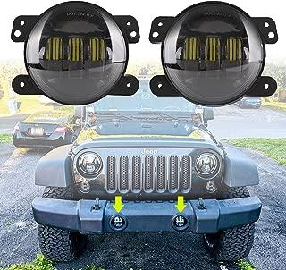 Best led jeep fog lights model 6145 j series Reviews