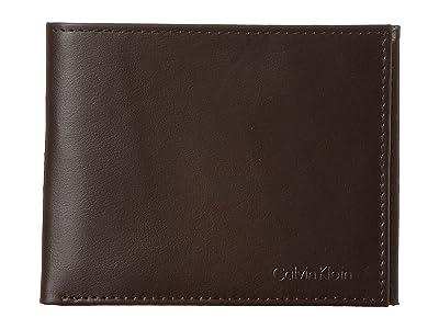 Calvin Klein Book Fold (Brown) Bi-fold Wallet