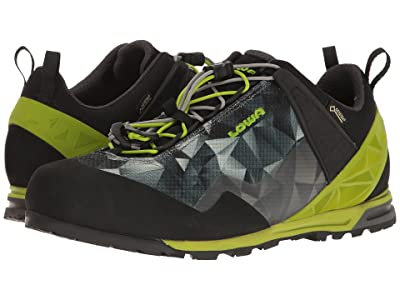 Lowa Approach Pro GTX Lo (Anthracite/Lime) Shoes