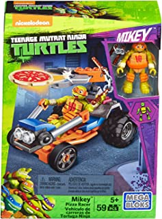 Mega Bloks Teenage Mutant Ninja Turtles Ninja Racers, Michaelangelo Pizza Launcher