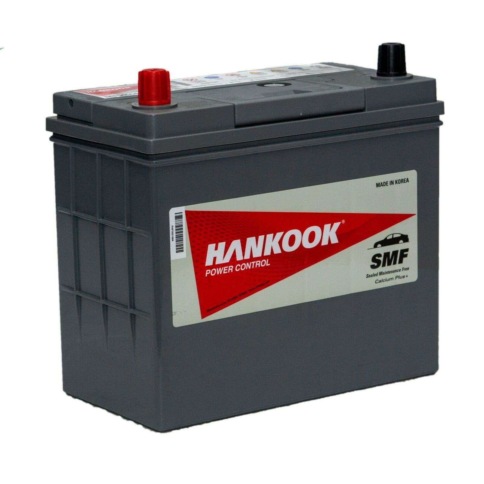 Hankook 057 Sealed Car Battery 12V 72Ah 4 Year Warranty 278 x 175 x 190mm MF54551