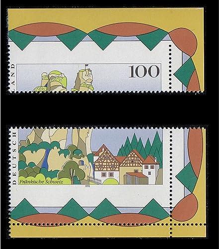 Goldhahn BRD Bund Nr. 1807 postfrisch  mittig durchgez t Briefürken für Sammler