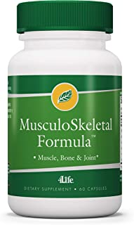 4Life - MusculoSkeletal Formula - for Muscles, Bones, and Joints - 60 Capsules