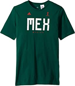 adidas Kids Mexico Tee (Little Kids/Big Kids)