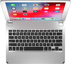 Brydge 12.9 Keyboard for iPad Pro 12.9-inch | 2017/2015 Models only | Aluminum Bluetooth Wireless Keyboard with Backlit Keys | Long Battery Life | Silver