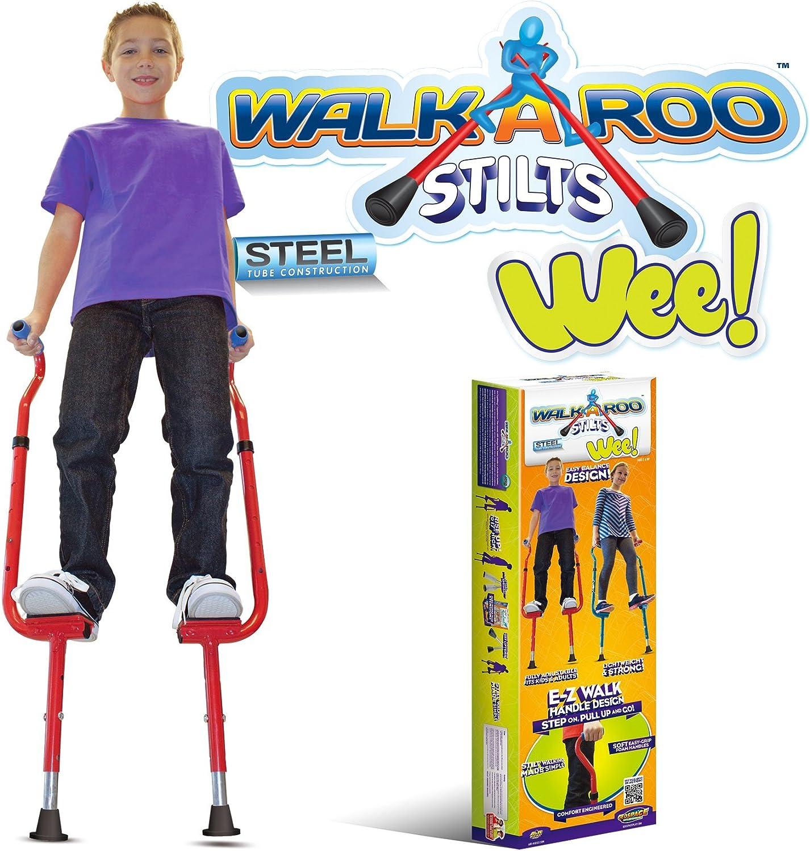 Geospace Walkaroo Steel Stilts, Ergonomic Design