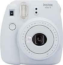 FujifilmInstax mini 9 Instant Film Camera, Smoky White