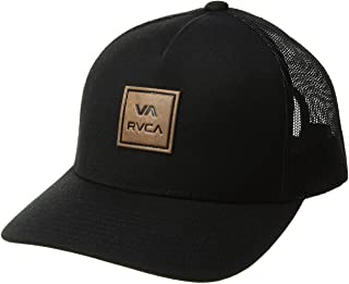 RVCA Men's Curved Bill Snapback Mesh Trucker Hat