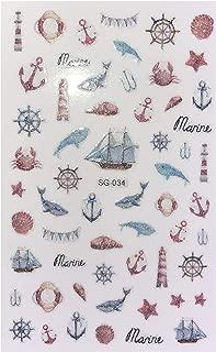 Best ocean inspired nail art Reviews