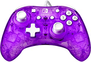 PDP Rock Candy Mini Wired Controller for Nintendo Switch, Cosmoberry, 500-181-NA-PR - Nintendo Switch
