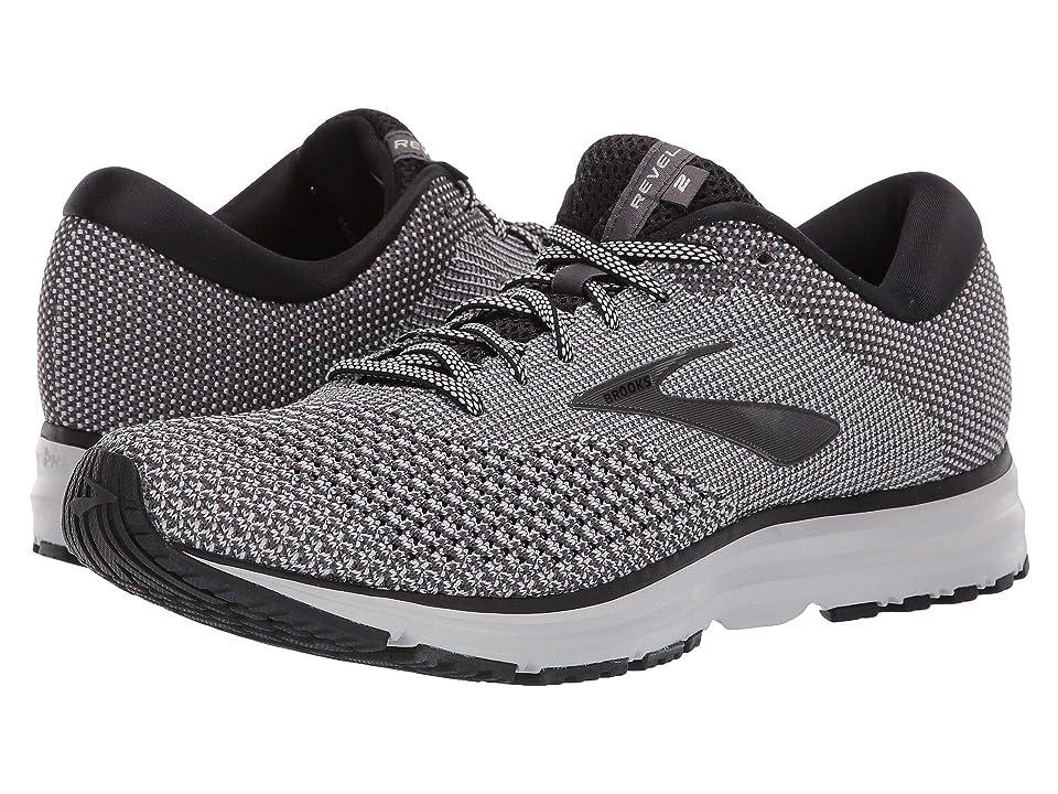 109de6a052da9 Brooks Revel 2 (Black Oyster Pearl) Men s Running Shoes