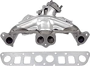 APDTY 785336 Exhaust Manifold w/Gasket & Heat Shield Fits 2.5L 4-Cylinder Engine On 96-02 Dodge Dakota 83-86 Jeep CJ 84-00 Cherokee XJ 86-92 Comanche 83-85 Scrambler 84-87 Wagoneer 87-02 Jeep Wrangler