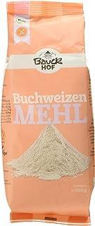 Bauckhof Buchweizenmehl Vollkorn glutenfrei, 6er Pack 6 x 500 g - Bio